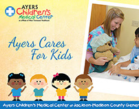 Ayers Children's Medical Center Folded Card