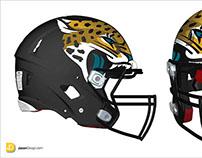Jacksonville Jaguars Helmet Concept