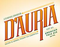 [lettering] Cervejaria D'Auria