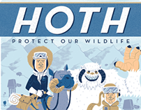 Star Wars - Hoth: Protect Our Wildlife