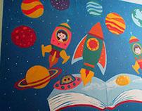 Charles H Kim Elementary School Murals