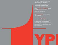 TypeCON Posters & Postcards