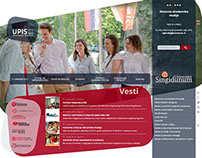 Singidunum University websites 2014