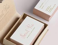 Sweet Pea Makeup Artistry Branding