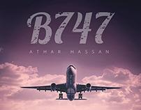 B747 :: Book Cover
