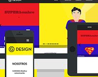 G DESIGN | Web Site