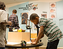 Kohl's Art Generation- Illusions Exhibit Opening