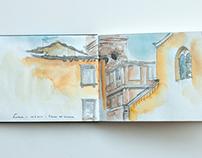 Travel Sketchbook Toskana