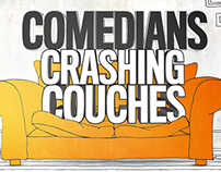 Comedians Crashing Couches- Designs & Animations