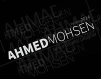 Ahmed Mohsen - Portfolio 2014
