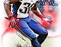 New England Patriot Duron Harmon