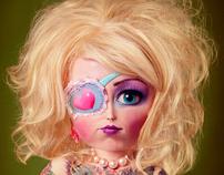 Megan as a Doll