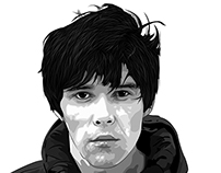 Ian Brown - Illustration