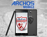 zamalek club archos mobile