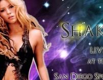 Shakira Concert Poster