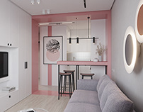 Small Apartment, 34 m2