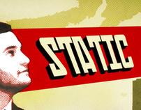 "Vinyl Cover - STATIC's LP ""Status Locked"" feat. Loki"