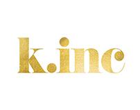 K.inc Logo Design