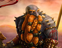 Dark iron dwarf berserk