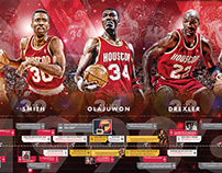 Houston Rockets Historical Timeline Supergraphic