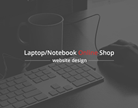 Webshop for a laptop shop