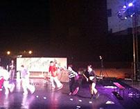 """ONE TWO FREEDOM"" show in  Mirabilia festival"