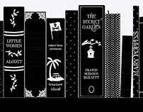 Shelfie: Bookspines