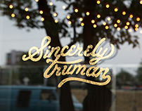 Sincerely Truman Entrance Vinyl