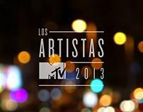 LOS ARTISTAS MTV 2013