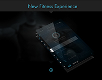   Concept for a new finess App with Ibeacons  