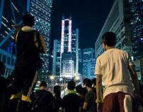 Umbrella revolution - Protests for Democracy in HK