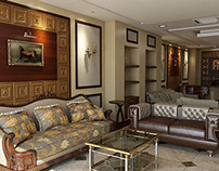 Gallery In Doha 3D interior