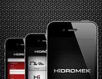 Hidromek Mobil Application Poject for iOS Design