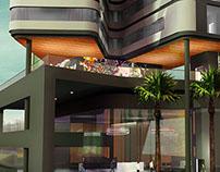 Surabaya Hotel - 3D Visualization