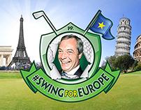 #SwingForEurope branding