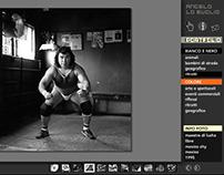 Web site design for Photographer Angelo Lo Buglio