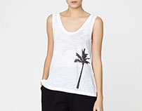 OYSHO SS14 - palm tree
