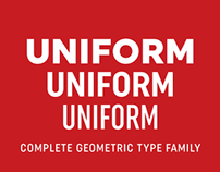 Uniform - The Complete Geometric Type Family