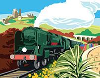 Swanage Railway Branding