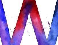 Watercolor Letters