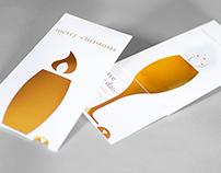 Weihnachts- und Einladungskarte