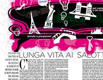 Illustrazione magazine Lusso Style / Ottobre 2014