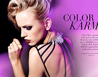 """Color Karma"" for MOD Magazine"