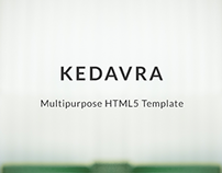 KEDAVRA - Multipurpose HTML5 Template
