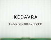 KEDAVRA - Multipurpose HTML5 Template