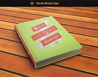 ID Book Mockup Photorealistic