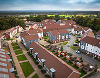 Social housing development, Surrey