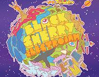 Ilustração DVD Black Cherry Electrojam