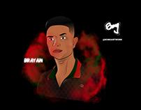BRAYAN - CARTOON @SONGARTWORK