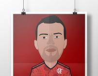 Héctor Canteros - Flamengo